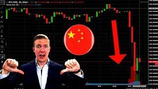 China *Rumors* CRASH Crypto - Will China BAN Bitcoin & Crypto Exchanges? Or is it FUD?