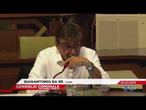 CONSIGLIO COMUNALE VITTORIO VENETO - Seduta del 30.07.2019