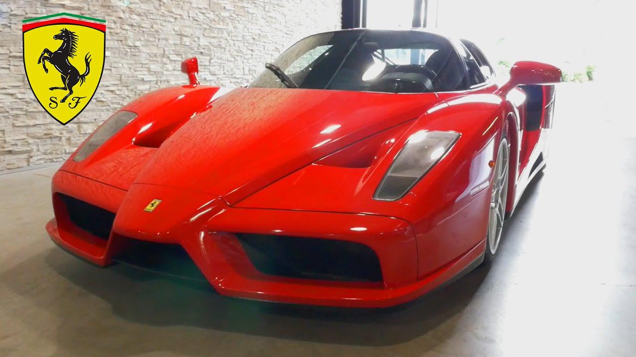 Ferrari enzo exhaust sound startup looks interior exterior youtube ferrari enzo exhaust sound startup looks interior exterior vanachro Images