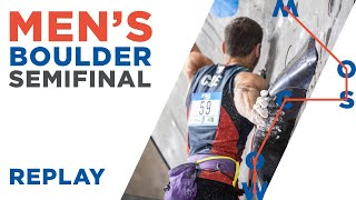 IFSC World Championships Moscow 2021 || Men's Boulder Semi-final