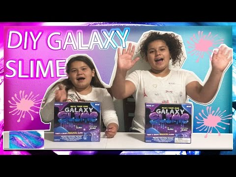 DIY GALAXY SLIME FROM WALMART | HOW TO MAKE SLIME | LIFE WITH BROTHERS