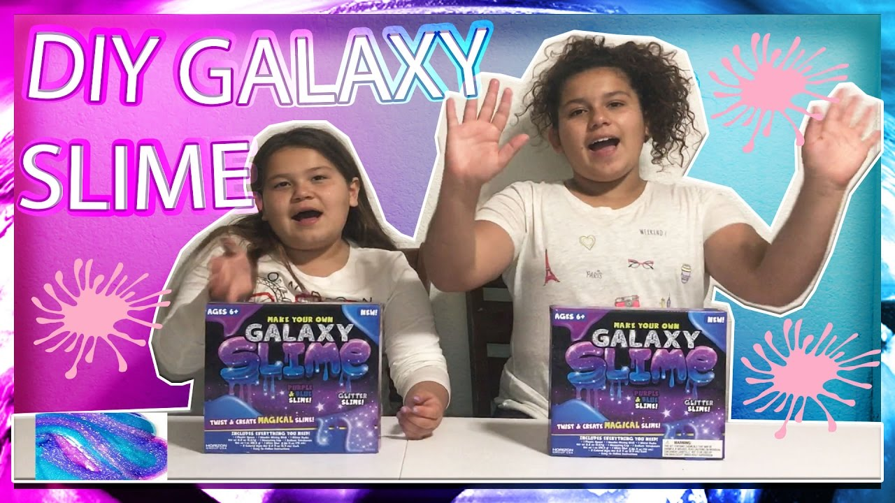 Slime Master Mary And Izzy: DIY GALAXY SLIME FROM WALMART