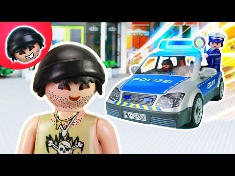 KARLCHEN KNACK #115  - Karlchens wilde Verfolgungsjagd - Playmobil Polizei Film