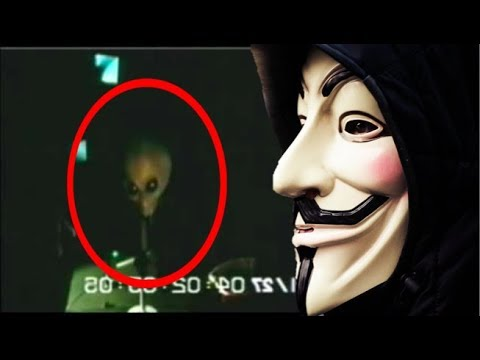 Anonymous: AREA 51 HACKED - ALIENS REVEALED (FOOTAGE)