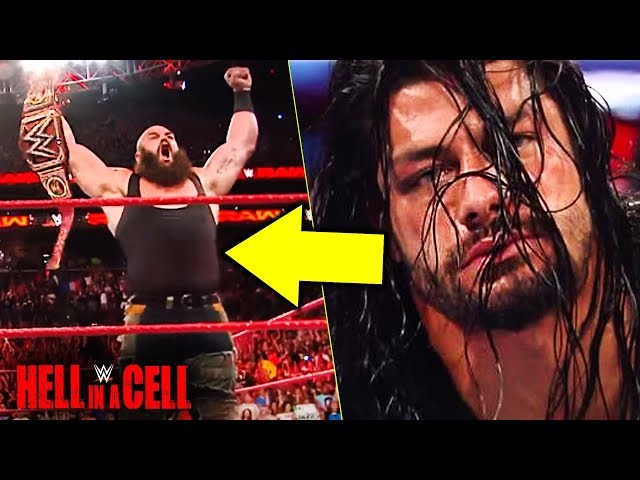 WWE Hell In A Cell 2018 Predictions!