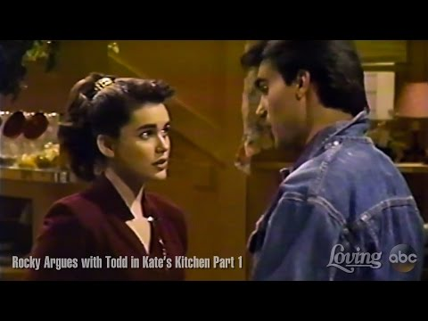 Loving Soap Opera – Rocky Argues with Todd in Kate's Kitchen  Todd McDurmont as Todd Jones