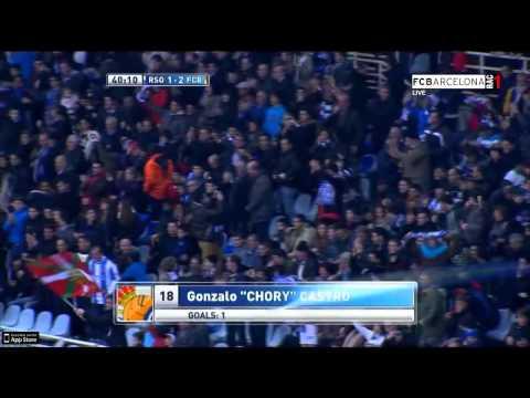 Real Sociedad 3-2 FC Barcelona - HIGHLIGHTS - LIGA BBVA: MATCH DAY 20