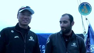 2018 Sevenstar Round Britain and Ireland Race: El Velosolex SL Energies Group Finish Interview