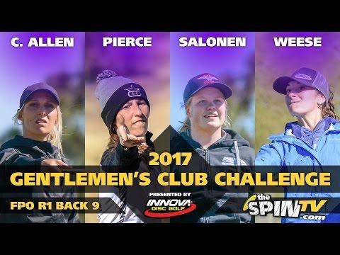 2017 Gentlemen's Club Challenge Presented By Innova - FPO Round 1, Back 9