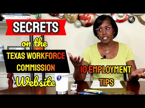 10 Tips From The Texas Workforce Commission