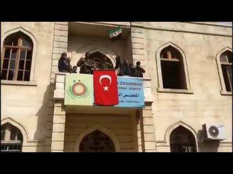 Turkey takes control of Afrin in Syria