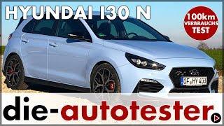 2018 Hyundai i30 N Performance 100 km Verbrauch Test und Fahrbericht | Review | Deutsch