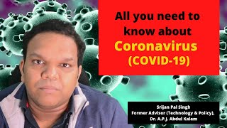 All you need to know about Coronavirus (COVID-19)