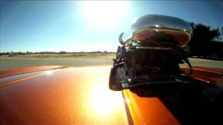 BLOWN Camaro Rolling Burnouts