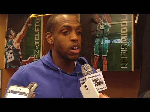 Khris Middleton Post-Game Interview | Bucks 101-94 Raptors