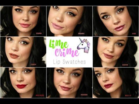 LimeCrime Velvetine Lip Swatch