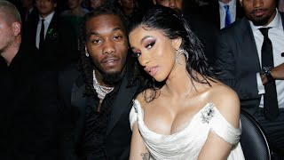 Cardi B and Offset's Cars Swarmed by Trump Rally