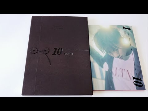 Inspirit Unboxes Kim Sunggyu 김성규 1st Full Album 10 Stories Limited Normal Edition Youtube