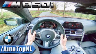 2019 BMW 8 SERIES M850i xDrive 4.4 V8 BiTurbo POV Test Drive by AutoTopNL