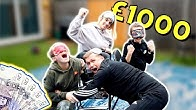 FIRST to SIT Wins £1000 *EXTREME* BLINDFOLDED Musical Chairs CHALLENGE