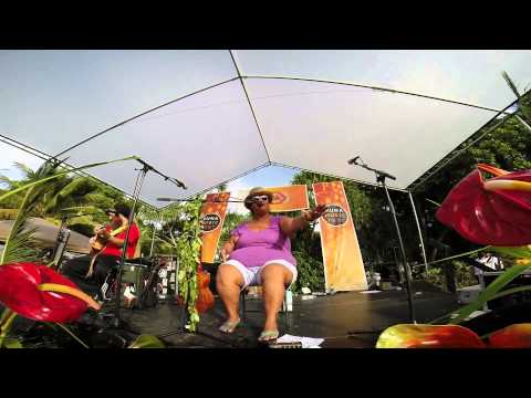 Paula Fuga and Mike Love Puna Music Fest 2014