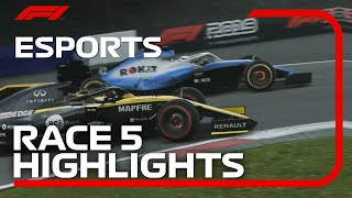 F1 Esports Pro Series 2019: Race Five Highlights