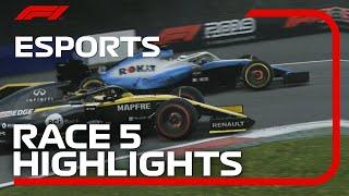 F1 Esports Pro Series 2019: Race Five Highlights