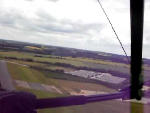 Taking Off From Enstone Airfield Oxfordshire Flying In A Raven Eclipser Flexwing Microlight