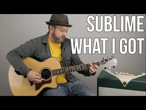 "How to Play ""What I Got"" by Sublime on Guitar"