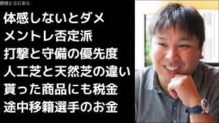 里崎智也「人工芝のが10倍楽にプレーできる」 お金 プロ野球 2017年12月3日