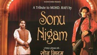 Teri aankhon ke siva Sonu nigam (digital audio recording)