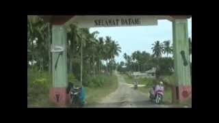 モロタイ島の県都ダルバからワヤブラ村へ Dari Daruba ke Wayabula, Pulau Morotai