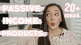 20+ PASSIVE INCOME PRODUCTS TO SELL ON ETSY, PASSIVE INCOME IDEAS ON ETSY,