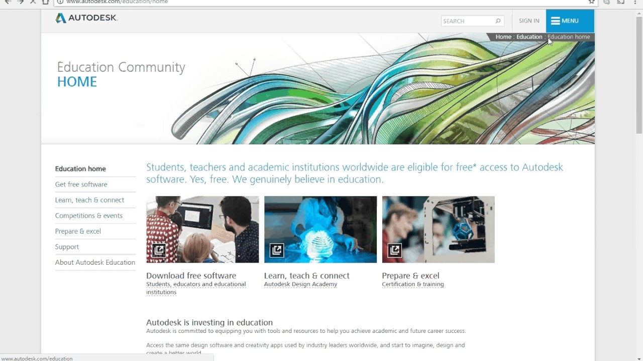 How to get inventor - Autodesk Student Community