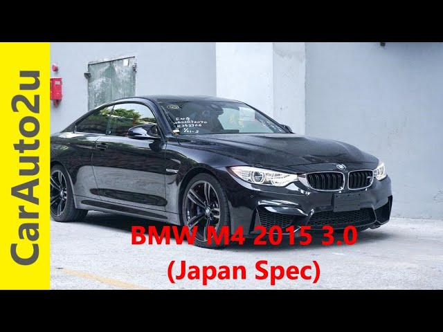 BMW M4 2015 3.0 Japan Spec RM294,000