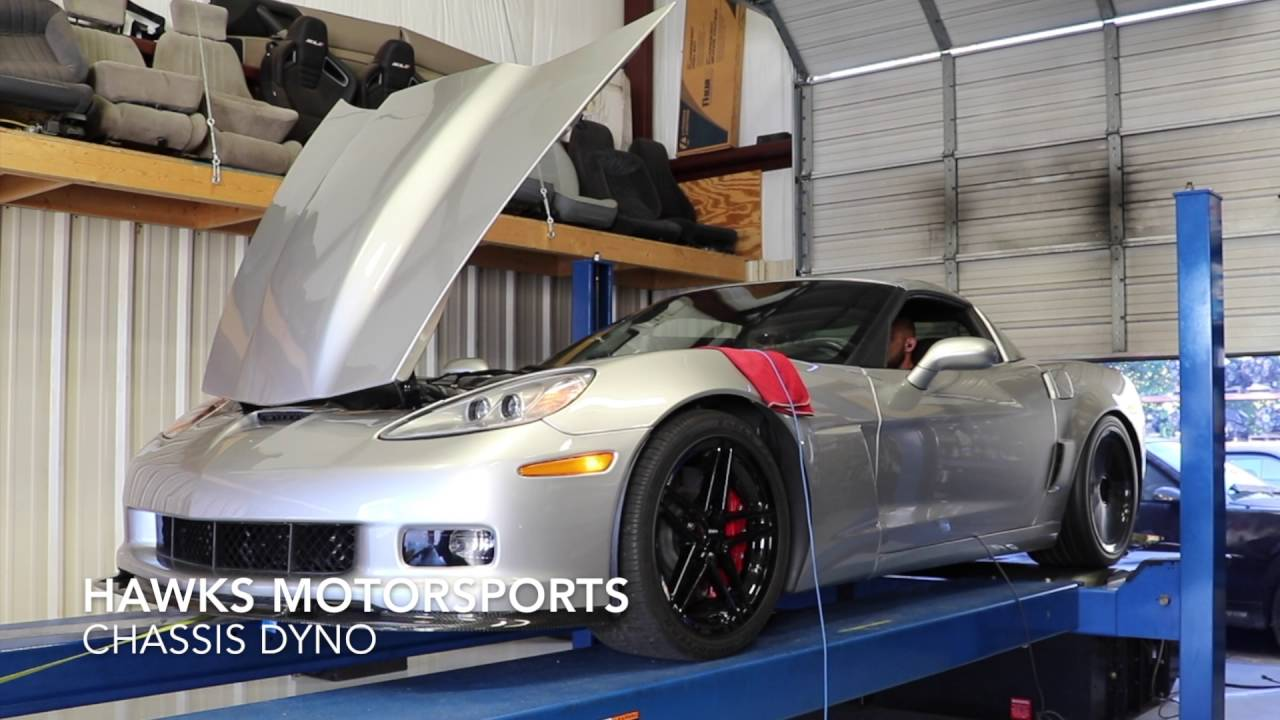 Manny's 2008 Corvette Z06 Heads/Cam/Intake LS7 Dyno