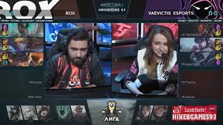 RoX Banea Supports a team femenino Vaevictis Esports - League of Legends 🤯