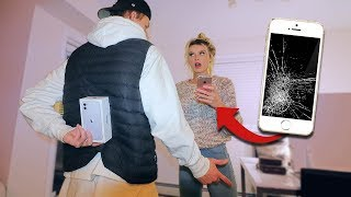 BREAKING Girlfriends Phone & Surprising Her With iPhone 11