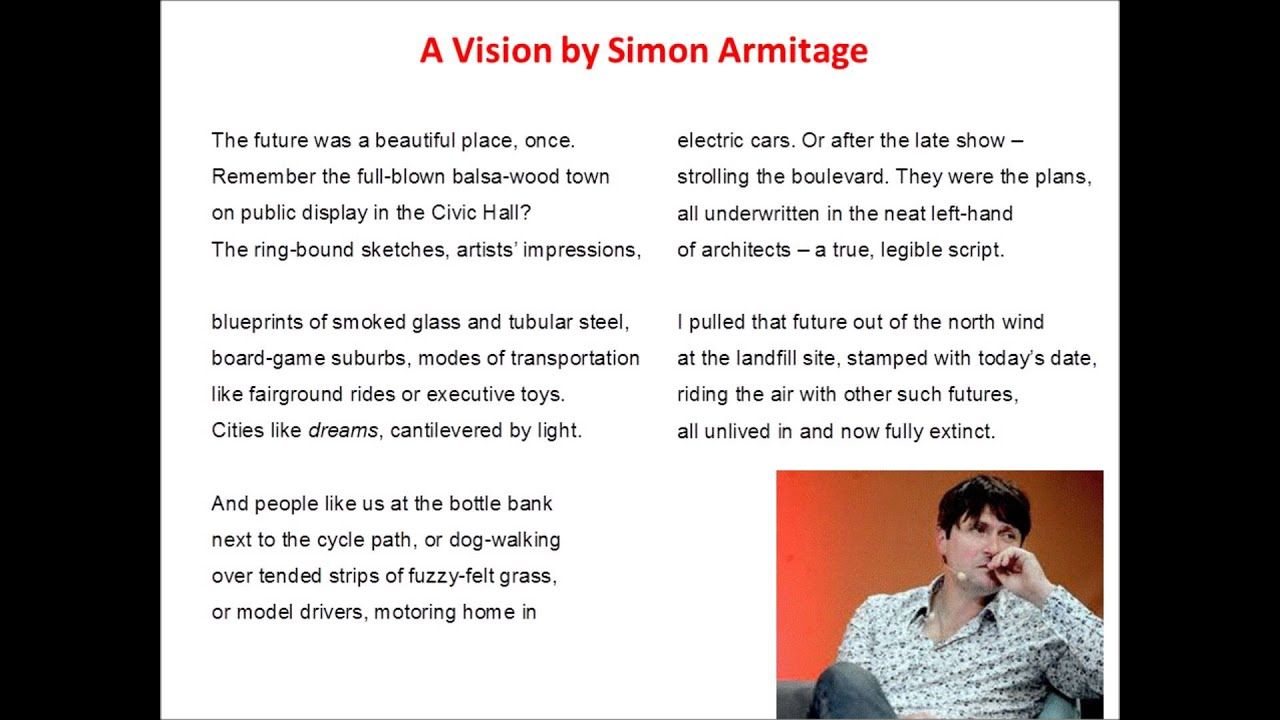 recreation of the poem give by simon armitage