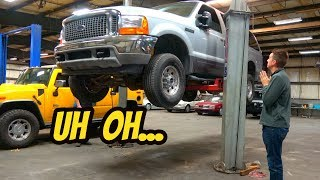 Here's Everything That's Broken On My Cheap Ford Excursion 7.3 Powerstroke Diesel