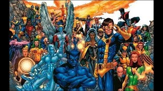 X-MEN – All members in the chronological order in which they entered the team