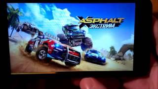 asphalt Xtreme(Экстрим) обзор на Alcatel One Touch Pop UP