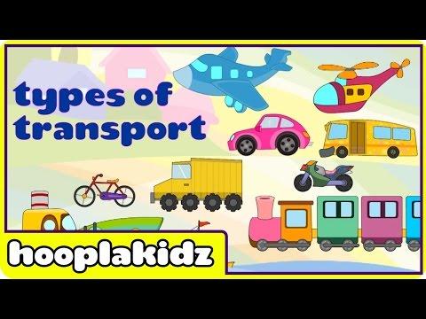 Preschool Activity | Learn About Transport | HooplaKidz