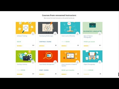How to Create an Online Course, LMS, Educational Website Like Udemy using WordPress 2018 - WPLMS