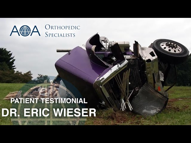AOA Orthopedic Specialists - Dr. Eric Wieser - Danny Lee's AOA Experience
