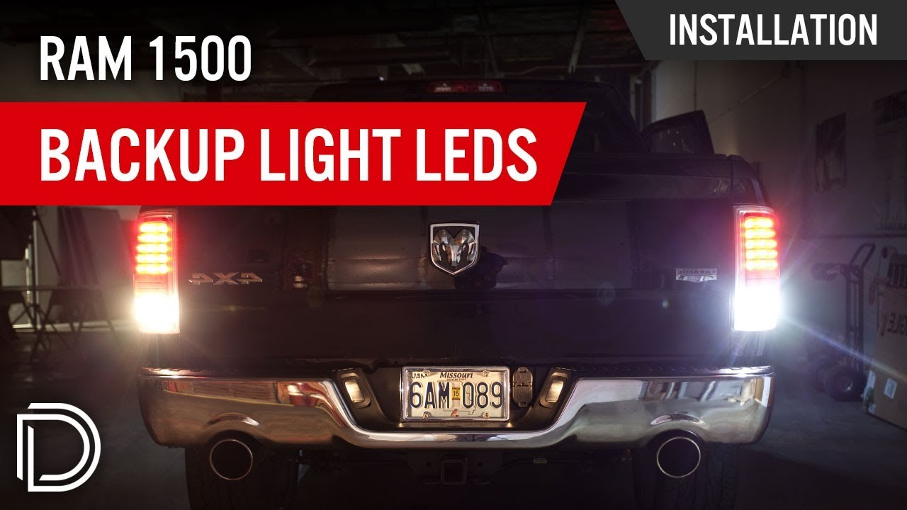 How to Install Ram 1500 Backup Light LEDs  YouTube