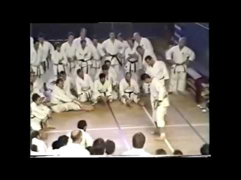 Exercises for the feet JKA Osaka Sensei
