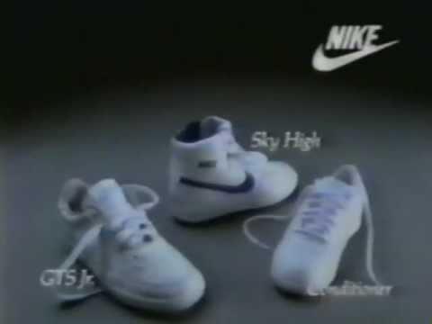 80's Ads: Nike Sky High