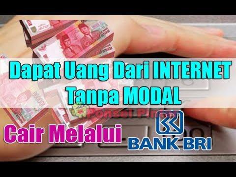 dapat uang online tanpa modal