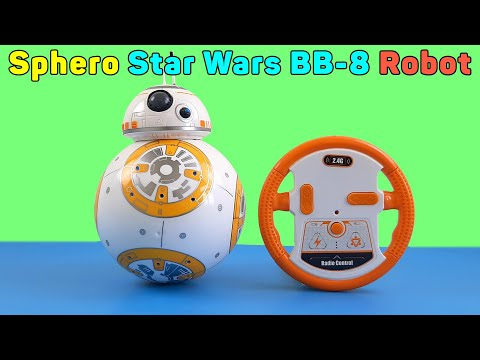 Sphero Star Wars BB-8 Robot Remote Controlled | Unboxing And Review